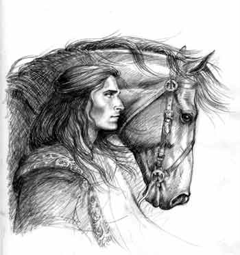 'Thorn with Horse' by Elizabeth Alger