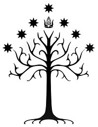 Tolkien Tree of Gondor